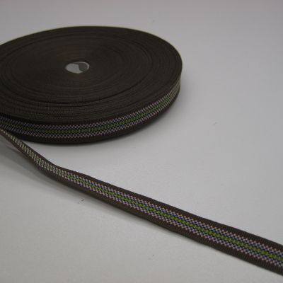 multi color petersham ribbon +/-1cm 60011